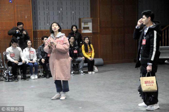 Экзамен абитуриентов в китайские академии искусств