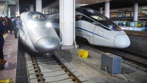 Скоростные поезда из Гонконга в материковый Китай